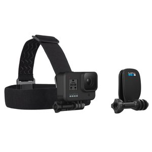 【GoProヘッドストラップ&クリップ】GoPro純正アクセサリー・マウント*様々な方法でゴープロカメラをヘッドマウントできるアクセサリーセット!|tajimastore
