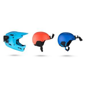 「ヘルメットフロント&サイドマウント」GoPro純正アクセサリー・ヘルメット正面または側面にマウント「AHFSM-001」|tajimastore