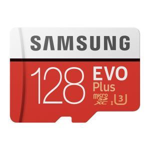 GoPro向けSDカード【SAMSUNG EVO Plus microSDXCカード 128GB】ゴ...