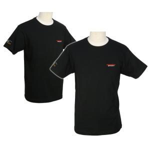 ウェア「モンスタースポーツ 刺しゅうTシャツ(半袖/ブラック/サイズ:S)」「ZWS26KS」|tajimastore