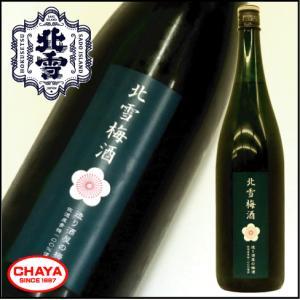 北雪 梅酒 1500ml 新潟 日本酒 地酒 佐渡 人気 北雪酒造|takabatake-sake
