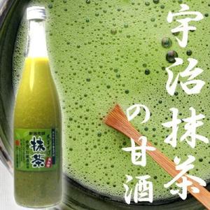 抹茶 甘酒 あまざけ 米麹 ストレート 740g 砂糖不使用 三崎屋 ギフト 飲み比べ|takabatake-sake