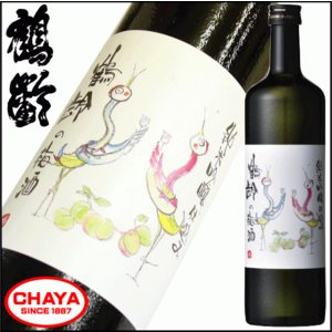 鶴齢の梅酒 純米吟醸仕込み 720ml 新潟 日本酒仕込み 梅酒 青木酒造|takabatake-sake