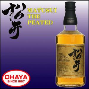 松井 ピーテッド MATSUI シングルモルト ウイスキー 700ml 松井酒造|takabatake-sake