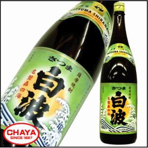 さつま白波 芋焼酎 25度 1800ml 薩摩酒造|takabatake-sake