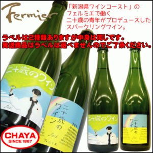 フェルミエ 二十歳のわいん 750ml 新潟 ワイナリー 国産 takabatake-sake