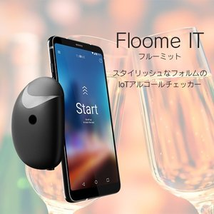 スマートフォンアクセサリ・スマホアクセサリ・アルコールチェック・アルコール検知・FLOOME・IoT...
