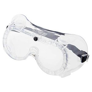PROMATE 防じんメガネ 弁付透明 PBM-1CB (透明)