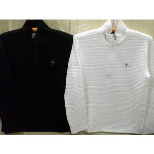 Be Ambition    クロスワッペン&ロゴ Zip Up長袖Tシャツ ビーアンビション