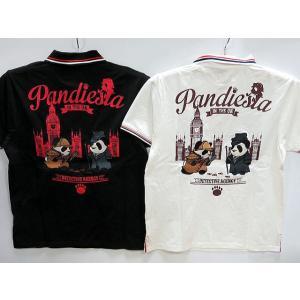 PANDIESTA JAPAN  半袖ポロシャツ ホームズパンダ パンディエスタ  有名な時計塔のあ...