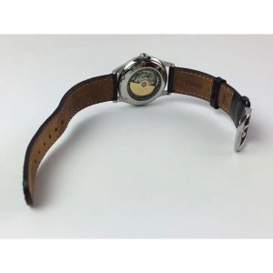 e45bc6ab1b ... オリス ORIS 腕時計 時計 メンズ レディース シルバー ブラック 革ベルト 自動巻き ポインターデイト バックスケルトン