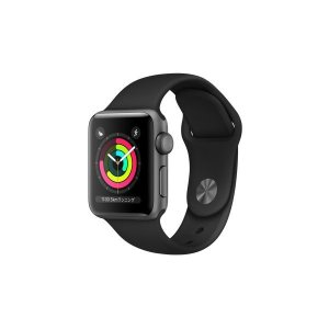 Apple Watch Series 3 GPSモデル 38mm MTF02J/A [ブラックスポー...