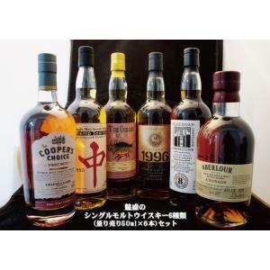 魅惑のシングルモルトウイスキー6種類(量り売り50ml×6本)セット|takagi-sake