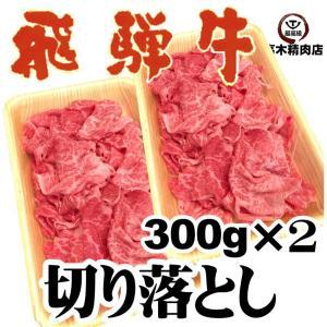 飛騨牛 切り落とし 300g×2p 計600g 焼しゃぶ すき焼き 牛丼 肉じゃが 冷凍|takagiseiniku