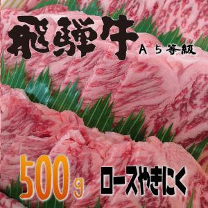 飛騨牛ロース焼肉500g|takagiseiniku