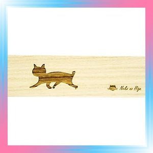 短尾 猫専用桐製猫のひげケース ロング 短尾