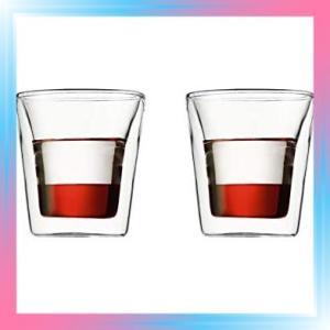 BODUM ボダム BODUM CANTEEN ダブルウォールグラス 100ml 2個セ|takahashi-shopping