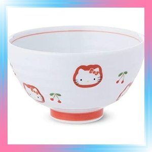 有田焼 HELLO KITTY キティちゃん 茶碗 約Φ10.7cm × 6.2cm takahashi-shopping