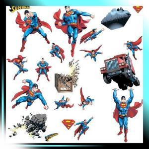 rmk1194scsスーパーマン: Day of Doom Peel & Stick Wall Decals|takahashi-shopping