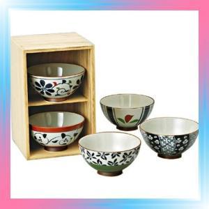 西海陶器 染錦いろどり 茶漬揃 31651|takahashi-shopping