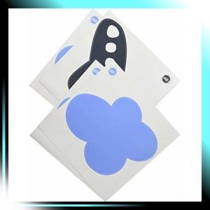 ウォールステッカー クラウド リスティック青い雲 ブルーの雲と|takahashi-shopping