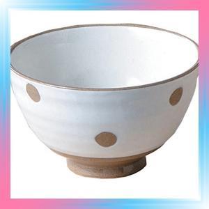 藍花 有田焼 飯碗 白化粧 水玉 10979|takahashi-shopping