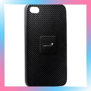 monCarbone Magnet-Force iPhone4/4S リアルカーボンケース Myst|takahashi-shopping