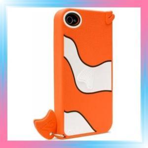 日本正規品 iPhone 4S / 4 CREATURES: Gil Fish Case, Orange ク|takahashi-shopping