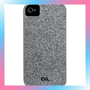 iPhone 4S / 4 Barely There Glam Case, Silver ベアリーゼア ケ|takahashi-shopping