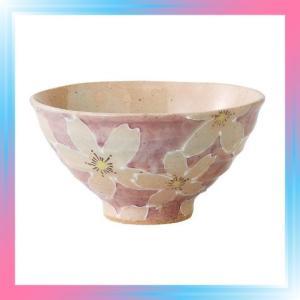 松本陶器 彩紅桜 飯碗 43674|takahashi-shopping