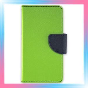 whitenuts iPhone6 Plus 5.5inch ケース 手帳型 2トーン ライム|takahashi-shopping