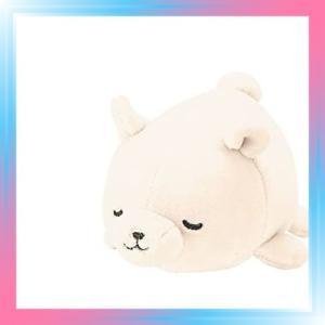 シロクマホワイト りぶはあと マスコット マシュマロアニマル し|takahashi-shopping