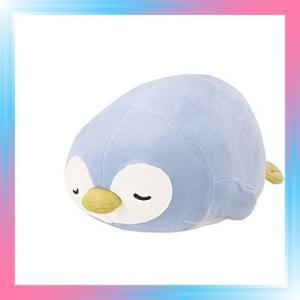 ペンギンブルー りぶはあと ボルスター マシュマロアニマル ペン|takahashi-shopping
