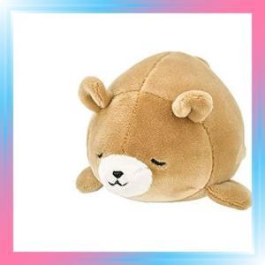 クマベージュ りぶはあと マスコット マシュマロアニマル クマの|takahashi-shopping