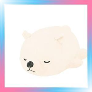 シロクマホワイト りぶはあと ボルスター マシュマロアニマル し|takahashi-shopping