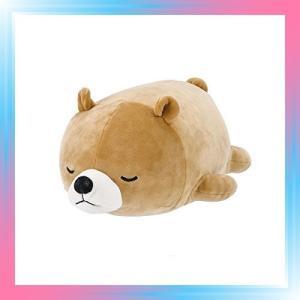 クマベージュ りぶはあと ボルスター マシュマロアニマル クマの|takahashi-shopping