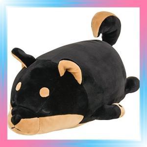 黒柴のコテツ りぶはあと ボルスター マシュマロアニマル 黒柴の|takahashi-shopping