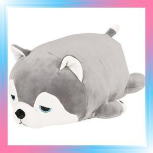 ハスキー犬のミント りぶはあと ボルスター マシュマロアニマル|takahashi-shopping