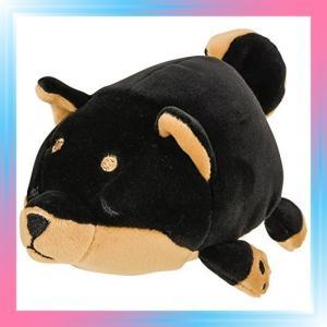 黒柴のコテツ りぶはあと マスコット マシュマロアニマル 黒柴の|takahashi-shopping