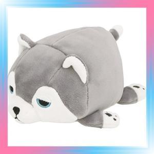 ハスキー犬のミント りぶはあと マスコット マシュマロアニマル|takahashi-shopping