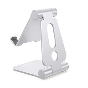 Lomicall 折り畳み式 スマホ スタンド ホルダー 角度調整可能, 携帯電話卓上スタンド : ...