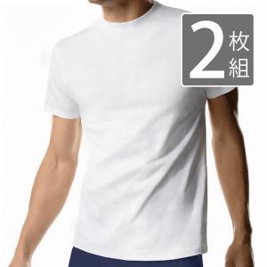 メンズ クルーネック 半袖Tシャツ 2枚組  メール便×非対応|takahashi-wear