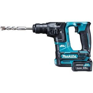 マキタ HR166DSMX 充電式ハンマードリル 10.8V 4.0Ah 【サービス品付き】 (SDSプラスシャンク)|takahashihonsha