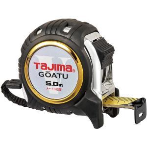 タジマ コンベックス 剛厚Gロック-25 GAGL2550 スチール剛厚テープ 長さ5.0m メートル目盛 両面目盛 ロックタイプ|takahashihonsha