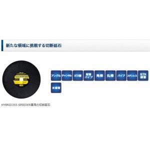 RESITON(レヂトン) ハイブリッド355 SPD 【5枚入り】(SPEEDER専用 切断砥石) takahashihonsha