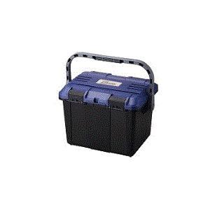 リングスター 道具箱 ドカット D-4700(ブルー/ブラック)   465×333×322   ※丸のこ収納可|takahashihonsha