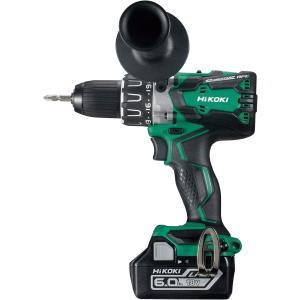 HiKOKI (日立工機) コードレスドライバドリル 14.4V セット品 DS14DBSL(2LYPK)【製品保証サービス有り】|takahashihonsha