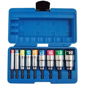 TOP工業 電動ドリル用コンパクトソケットセット EDS-824CS|takahashihonsha