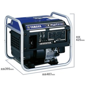 発電機 防災 ヤマハ インバーター発電機 EF2500i  100V 2.5kVA【正規販売店保証付き】|takahashihonsha