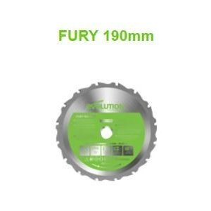 (Evolution エボリューション) 万能切断チップソー フューリー1 FURY1 用替刃 切断チップソー 190mm 190TCT|takahashihonsha